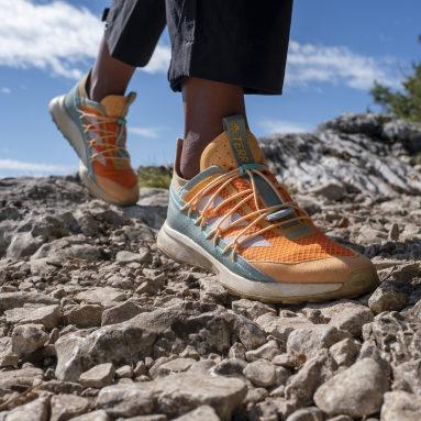 Women TERREX Orange Terrex Voyager 21 Travel Shoes