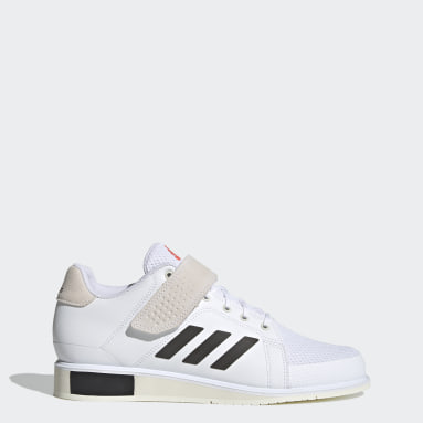 Cross Training White Power Perfect 3 Tokyo Weightlifting Shoes