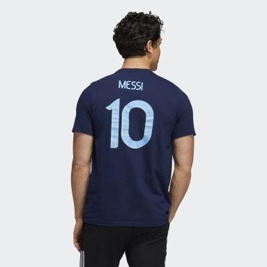 Men's Soccer Blue Argentina Amplifier Tee