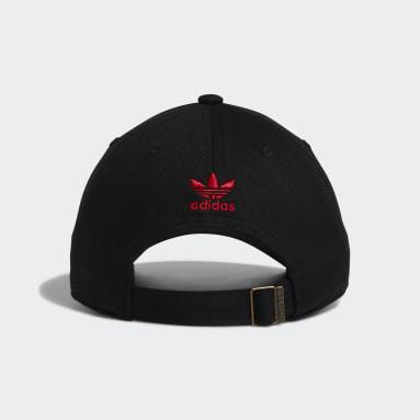 Originals Black Trefoil City Relaxed Hat