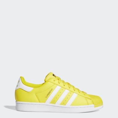 Men's Originals Yellow Superstar Shoes