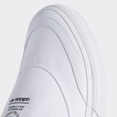 Originals White Nizza RF Slip Shoes