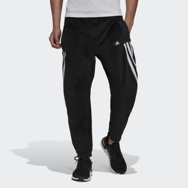 Men Sportswear Black adidas Sportswear Future Icons Premium O-Shaped Joggers