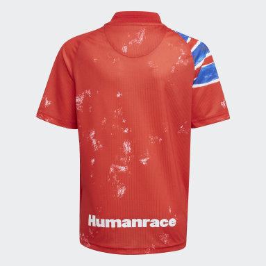 Děti Fotbal červená Dres FC Bayern Human Race