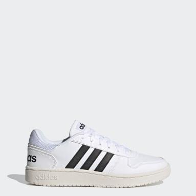 Erkek Sport Inspired Beyaz Hoops 2.0 Ayakkabı