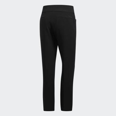 Women Golf Black Ultimate365 Adistar Cropped Pants