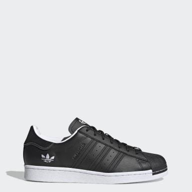 Men Originals Black Superstar Shoes