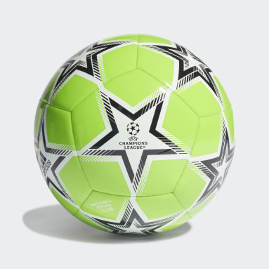 Bola UCL Club Pyrostorm Verde Futebol