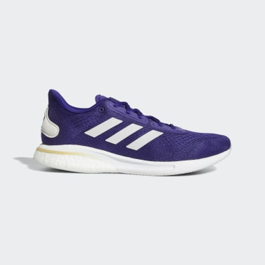Running Purple Supernova Shoes