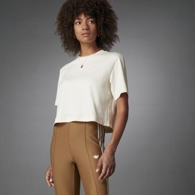 Women Originals White Blue Version Essentials Tee