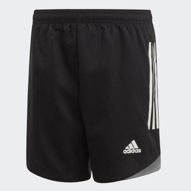 Pantalón corto Condivo 20 Negro Niño Gimnasio Y Entrenamiento