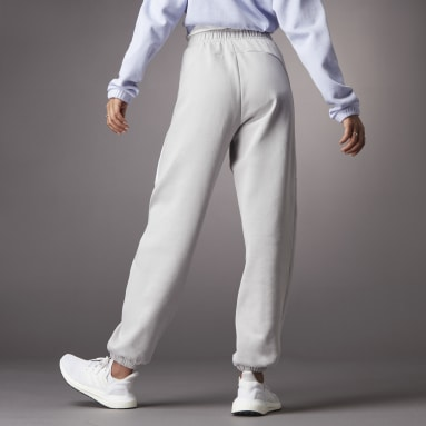 Calças Cintura Subida Hyperglam  Cinzento Mulher Sportswear