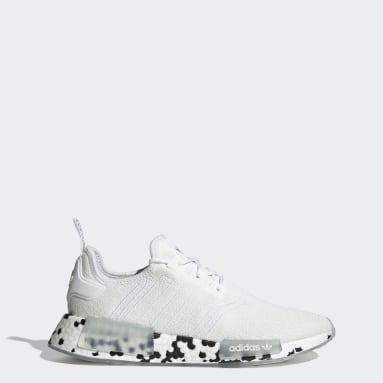 Originals White NMD_R1 Shoes