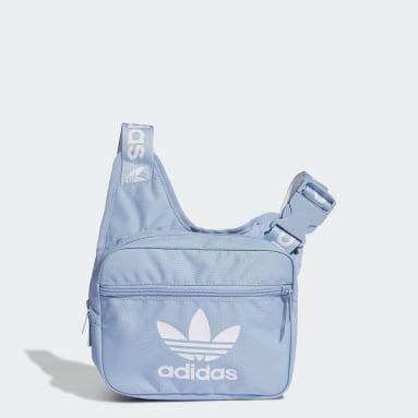 Originals adicolor Crossbody-Tasche Blau