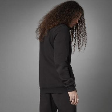 Herr Sportswear Svart Logo Fleece Jacket