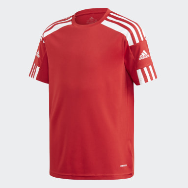 Camiseta Squadra 21 Rojo Niño Fútbol