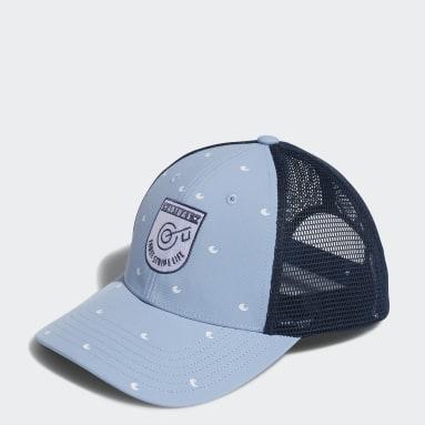 Women Golf Blue Trucker Hat