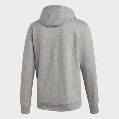 Felpa Camo Linear Grigio Uomo Sportswear