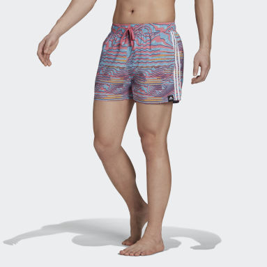 Short de bain Very-Short-Length Watersword Graphic Turquoise Hommes Natation