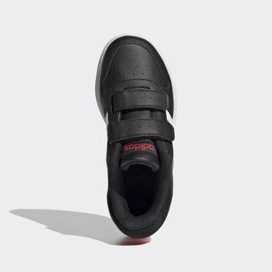 Děti Basketbal černá Boty Hoops 2.0