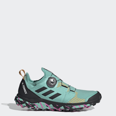 Women's TERREX Green Terrex Agravic BOA® Trail Running Shoes
