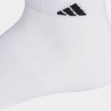 Men's Basketball White Superlite Low-Cut Socks 6 Pairs