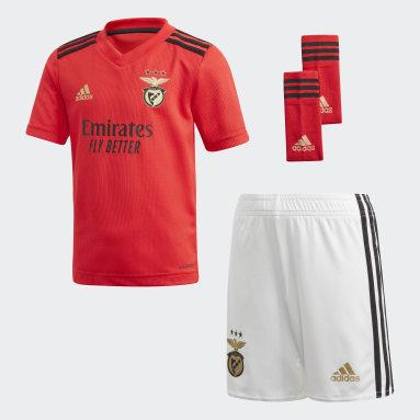 Benfica 20/21 Youth Kit Czerwony