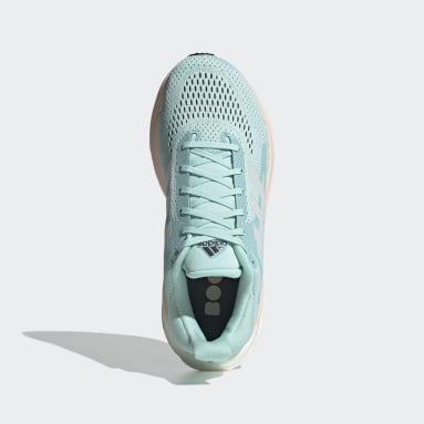 Women Running Green SolarGlide 3 Shoes