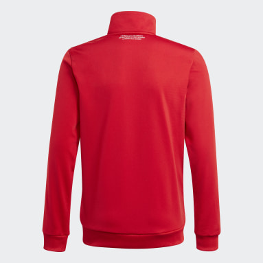 Youth 8-16 Years Originals Red Adicolor Track Top