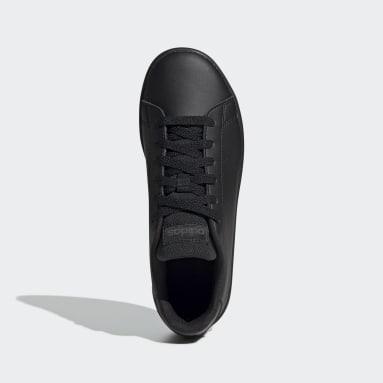 Zapatillas Advantage (UNISEX) Negro Niño Diseño Deportivo