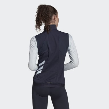 Giacca senza maniche da sci di fondo Terrex Xperior Soft Shell Blu Donna TERREX