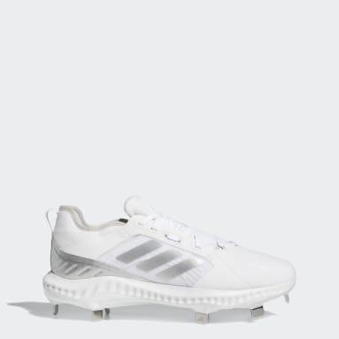 Women's Softball White PureHustle Cleats