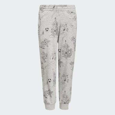 Girls Training Grey Disney Comfy Princesses Pants
