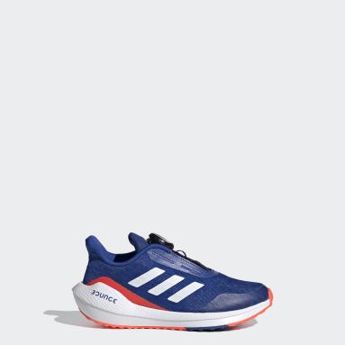 Chaussure EQ Run Boa Bleu Enfants Running