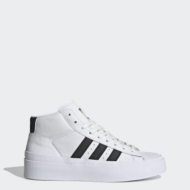белый Высокие кроссовки 424 Pro Model