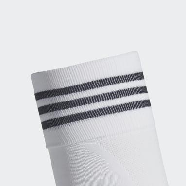 Calcetines AdiSocks con largo a la rodilla (UNISEX) Blanco Fútbol