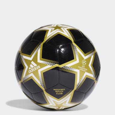 Football Black UCL Club Pyrostorm Ball