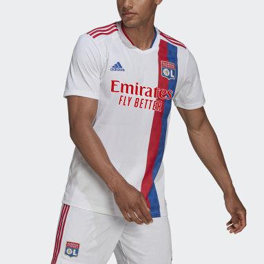 Camiseta primera equipación Olympique de Lyon 21/22 Blanco Fútbol