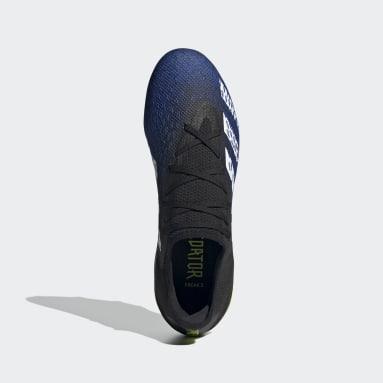 Football Black Predator Freak.3 Firm Ground Boots