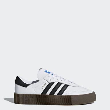 Women Originals White SAMBAROSE Shoes