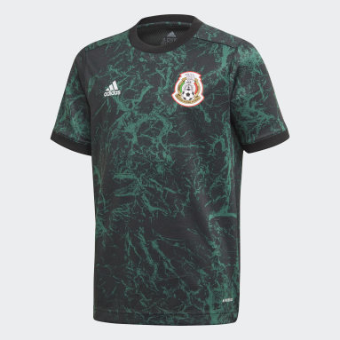 Youth Soccer Green Mexico Pre-Match Jersey