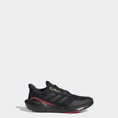Kids Running Black EQ21 Run Shoes