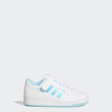 Børn Originals Hvid Forum Iridescent sko