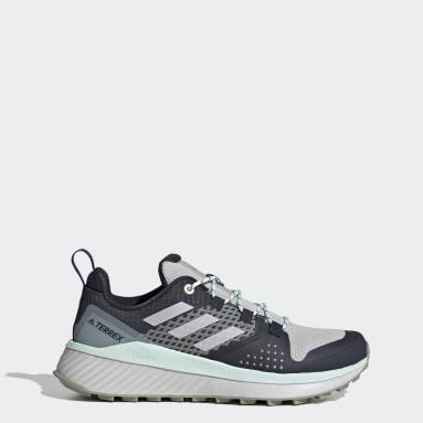 Women's TERREX Blue Terrex Folgian Hiker Hiking Shoes