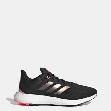 Women Running Black Pureboost 21 Shoes