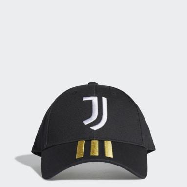Fodbold Sort Juventus Baseball kasket