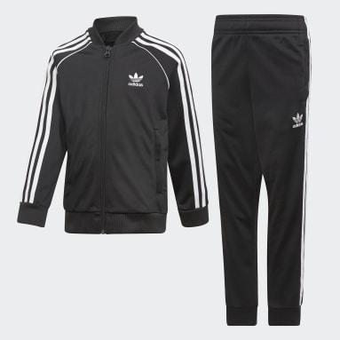 Kids Originals Black SST Track Suit
