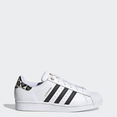Sapatos Superstar Branco Mulher Originals