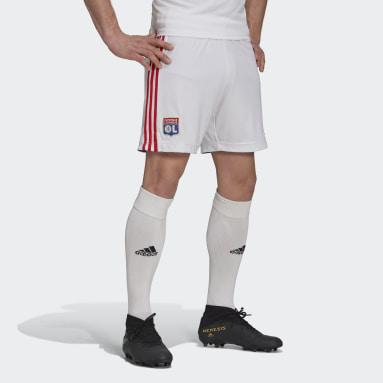 Voetbal Wit Olympique Lyonnais 21/22 Thuisshort