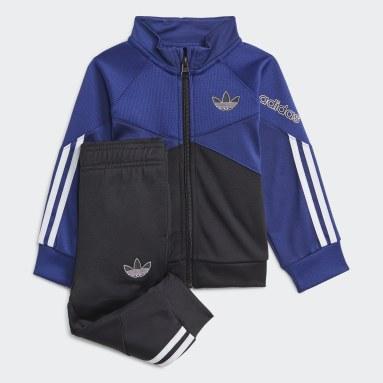 Track suit adidas SPRT Blu Bambini Originals